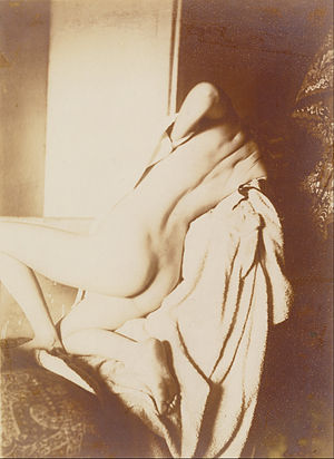After the Bath, Woman Drying Herself -  After the Bath, Woman Drying Her Back (1896) (The J. Paul Getty Museum)