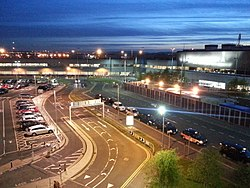 Edinburgh Airport - Taxi rank.jpg