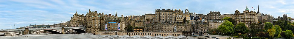 Edinburgh Old Town Skyline