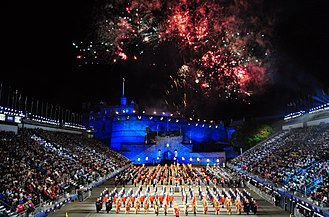 Military tattoo - Royal Edinburgh Military Tattoo, 2010