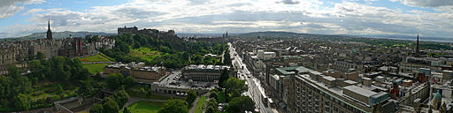 Edinburgh from Scott Monument 2