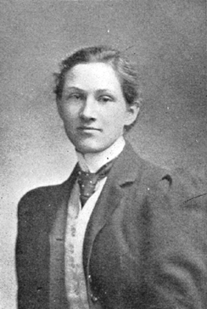 Edith Houghton Hooker - At Bryn Mawr College in 1901
