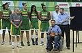 Eduardo Paes de cadeira de rodas inaugura a Arena Carioca 1 (foto 2).jpg