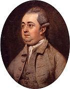 Edward Gibbon by Henry Walton cleaned