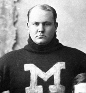 Edwin Denby (politician) - Image: Edwin Denby cropped from 1895 University of Michigan football team photo