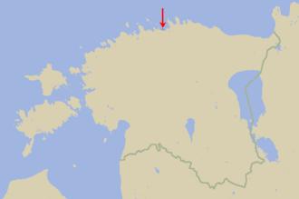 Pedassaar - Location of Pedassaar in Estonia.