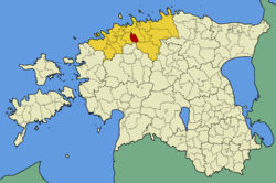 Kiili Parish within Harju County.