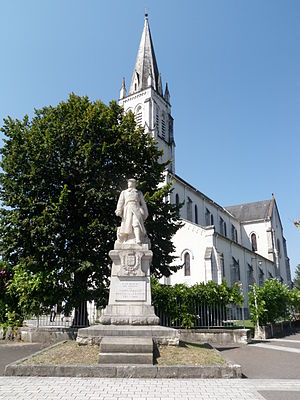 Saint-Palais, Pyrénées-Atlantiques - The church of Saint-Palais