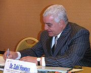 Dr. Zahi Hawass is the current secretary general of the Supreme Council of Antiquities.