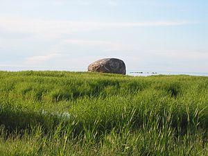 Glacial erratic boulders of Estonia