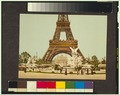 Eiffel Tower and fountain, Exposition Universal, 1900, Paris, France-LCCN2001698580.tif