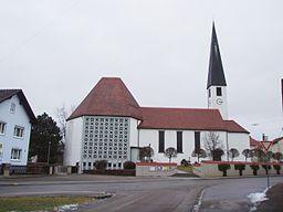 Eitensheim im Landkreis Eichstätt, Pfarrkirche St. Andreas