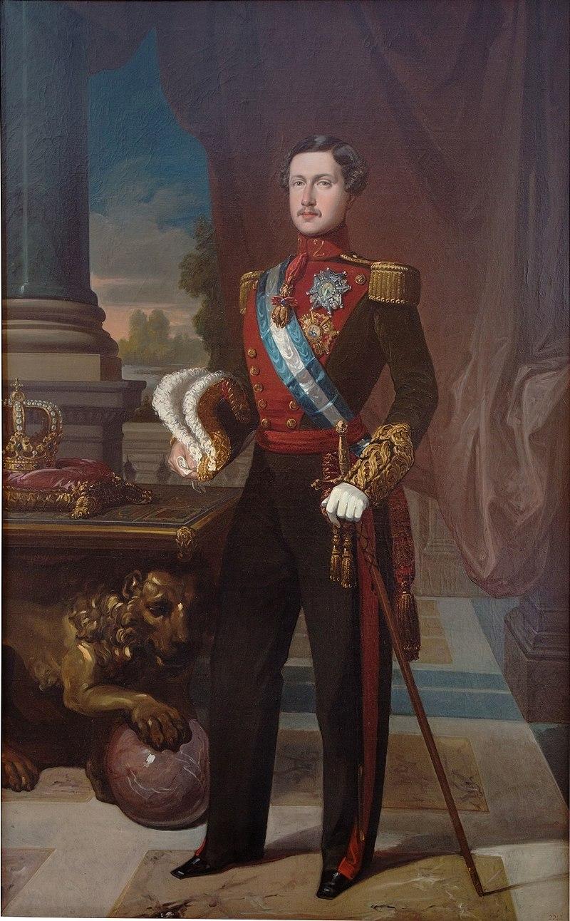 Эль Рей Франсиско де Асис, генерал униформы капитана (Museo del Prado) .jpg