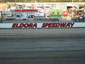 Eldora Speedway - Eldora Speedway during the 2007 Kings Royal