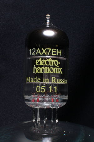 12AX7 - Image: Electro harmonix 12AX7EH