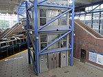 Elevator shaft at Airport Station, August 2015.JPG