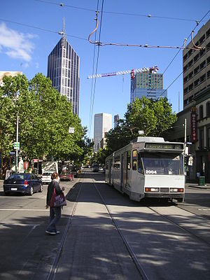 Elizabeth Street, Melbourne - Image: Elizabeth Street Melbourne