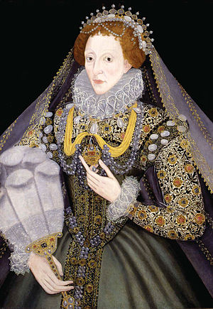 Art of the United Kingdom - Portrait of Elizabeth I, 1570s