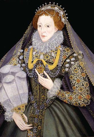 Art of the United Kingdom - Unknown artist, Portrait of Elizabeth I, 1570s