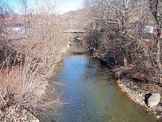 Elk Creek in Clarksburg (2006)