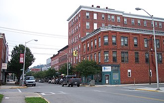 Elkins, West Virginia - Davis Avenue in downtown Elkins in 2006