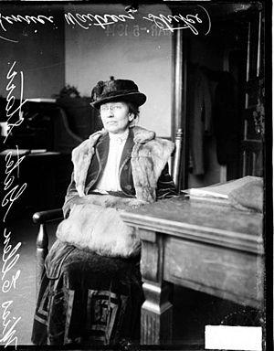 Ellen Gates Starr - Starr in 1914
