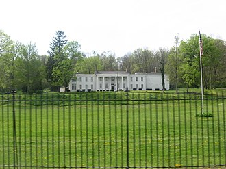 Connersville, Indiana - Elmhurst mansion in Connersville, built in 1831