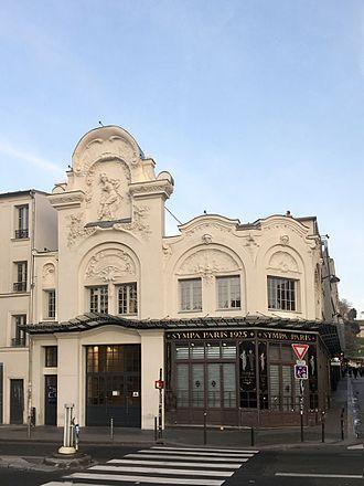 Élysée Montmartre - Image: Elysée Montmartre facade