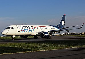 Embraer 190-100LR, Aeromexico Connect JP7656215.jpg
