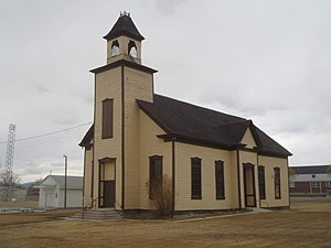 Emery, Utah - Emery LDS Church, built 1898−1900, is the oldest surviving religious building in town.