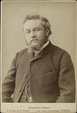 Émile Bergerat - Émile Bergerat early in his career.