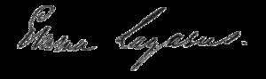 Emma Lazarus - Image: Emmalazarussignature