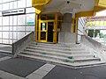 Energetic Grammar School and Student dorm, South block entry, 2018 Paks.jpg