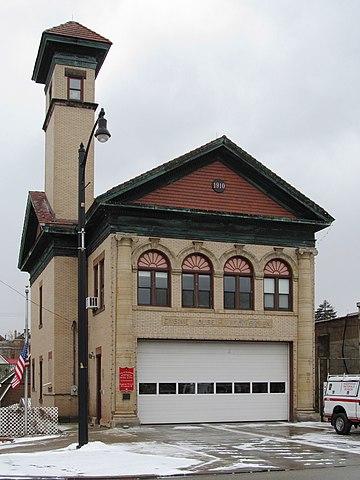 Brookline firehouse