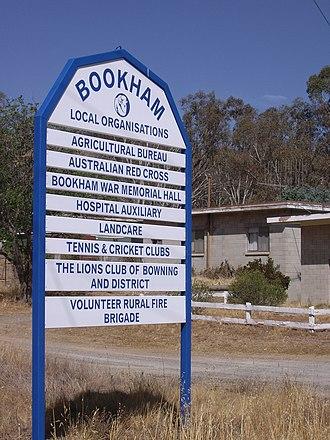 Bookham, New South Wales - Entering Bookham