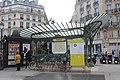 Entrée Métro Châtelet place Ste Opportune Paris 6.jpg
