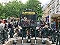 Entrée Station Métro Alexandre Dumas Paris 3.jpg
