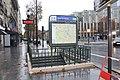 Entrée Station Métro Porte Clichy Paris 2.jpg