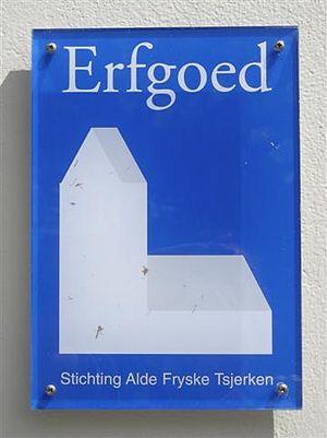 Stichting Alde Fryske Tsjerken - Emblem for churches in the care of the foundation