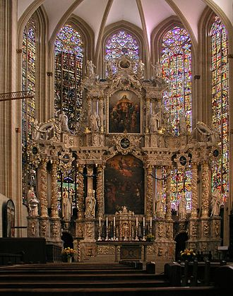 Erfurt Cathedral - Image: Erfurt Dom Altar