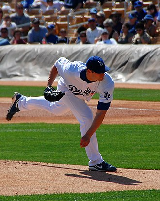 Eric Stults - Stults with the Los Angeles Dodgers in 2010