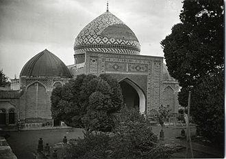 Blue Mosque, Yerevan - Image: Eriwan Gök Jami (Foto Sarre MIK Pl 9088)