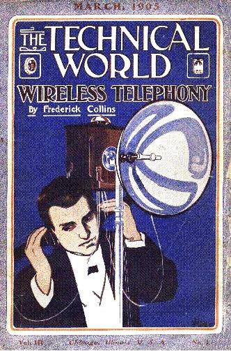 Ernst Ruhmer, Technical World cover (1905)