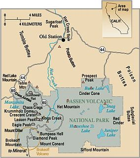 Geology of the Lassen volcanic area