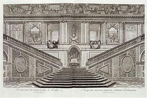 François d'Orbay - Image: Escalier des Ambassadeurs