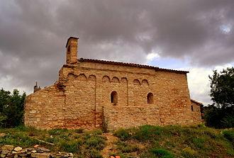 Bellprat - St. Christopher's church, Castell de Queralt