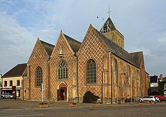 Esquelbecq - St Folcwin church in Esquelbecq