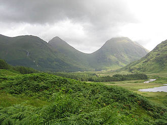 Harry Potter and the Order of the Phoenix (film) - Filming of aerial and backdrop shots took place at Glen Etive, Scotland.