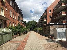 Eupener Stieg in Hamburg