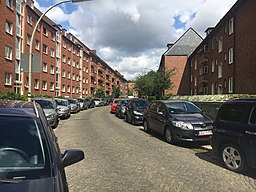Eupener Straße in Hamburg